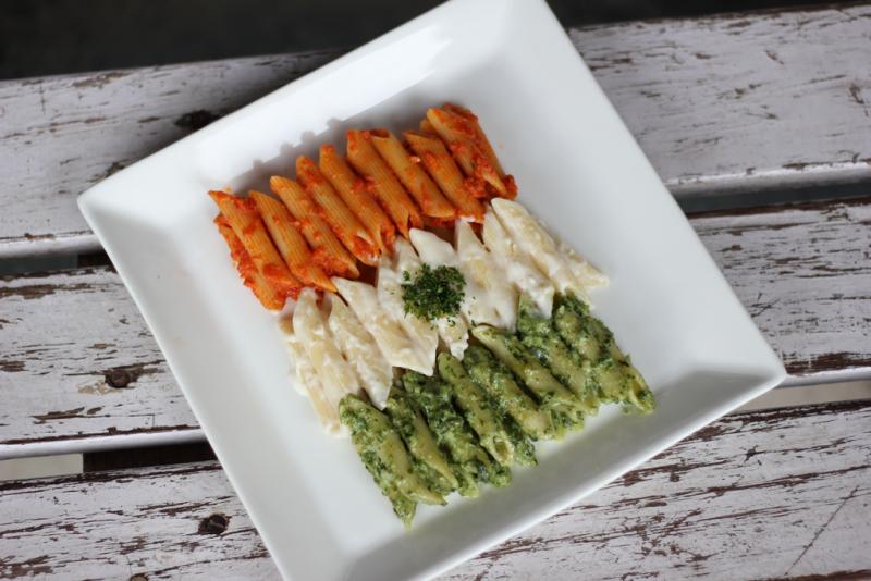 Tricolor Pasta Salad
