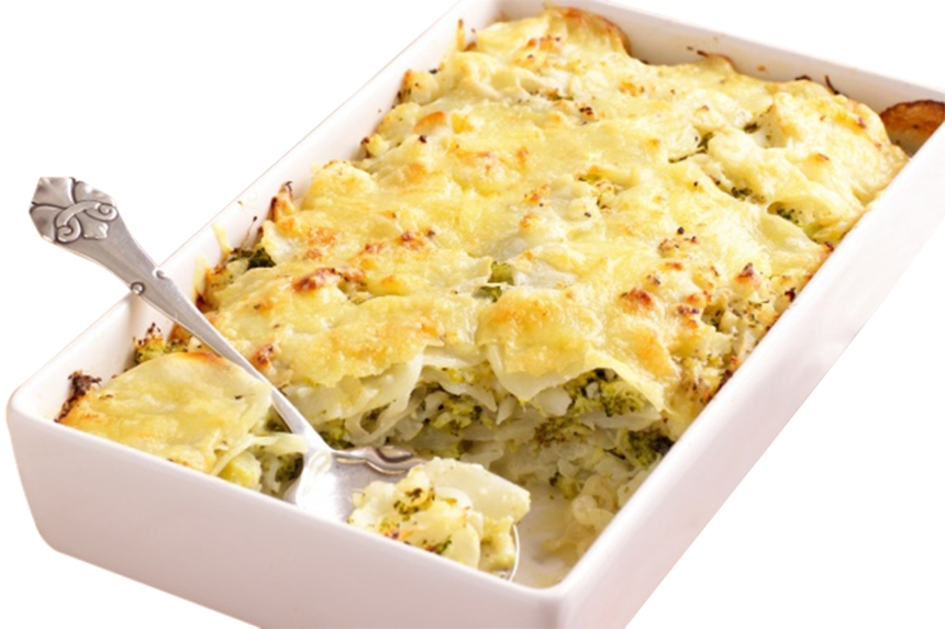 broccoli-and-cauliflower-gratin