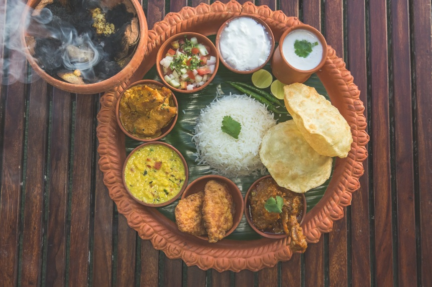 chicken-thali