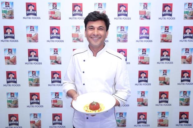 Chef Vikas Khanna, Co-Creator of Quaker Nutri Foods and Brand Ambassador...
