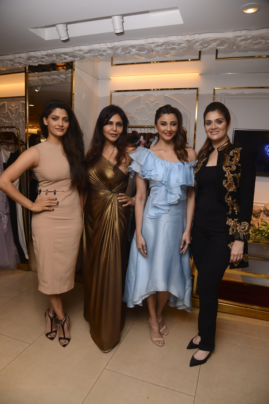 From left to right - Saiyami Kher, Nisha JamVwal, Daisy Shah, Rebecca Dewan