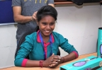 DAFNI India, the perfect hair straightening Brush Gives The Underprivileged Women A Reason To Smile